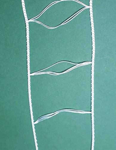 Asia Buy - Cinta de Escalera Blanca para persianas de 2 Pulgadas: Amazon.es: Hogar