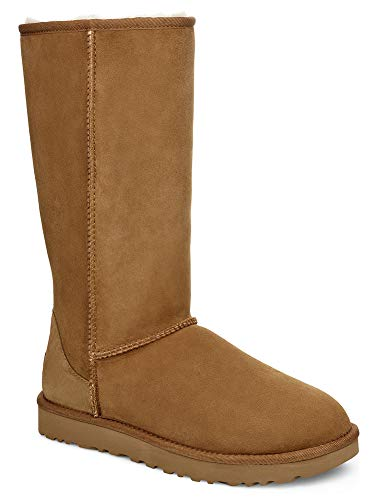 UGG Women's, Classic Tall II Tasman Braid Boot Chestnut 8 M