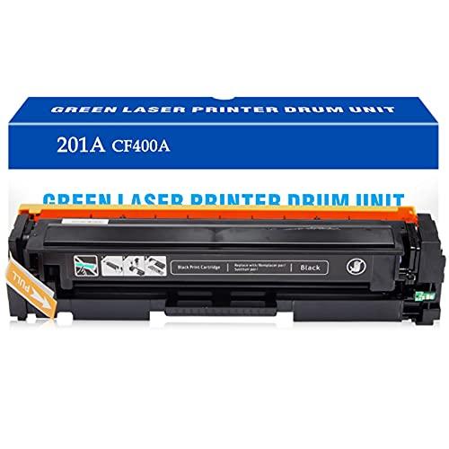 Reemplazo de Cartucho de tóner Compatible para HP 201A CF400A para HP Laserjet Pro MFP M277DW M277 M277N M277C6 M252DW M252 M252N Impresora