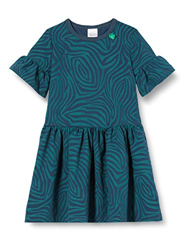 Fred'S World By Green Cotton Safari Dress Robe, Bleu (Midnight 019411006), 92 Bébé Fille