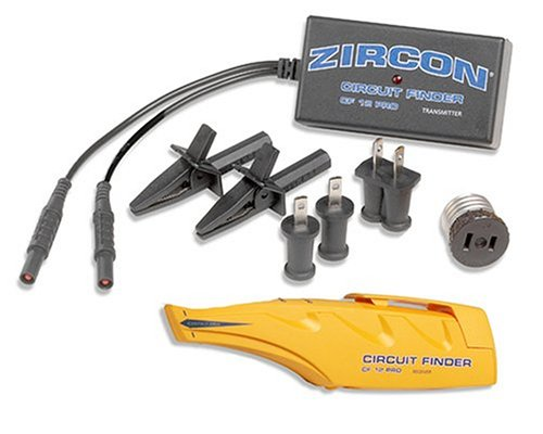 Zircon CF12 Pro Circuit Breaker Finder with Professional Accessories -