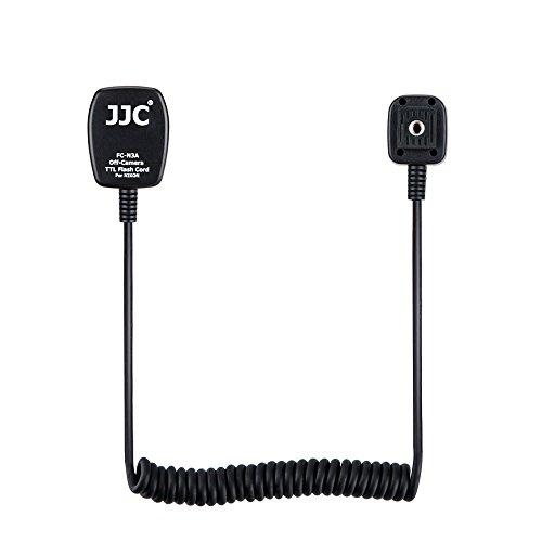 JJC Flash TTL Hot Shoe Cord for Nikon Z5 Z6 Z6II Z7 Z7II D780 D850 D810 D750 D7500 D7200 D5600 D5500 D5300 D3500 D3400 Replaces Nikon SC-28 Cord -1.3m
