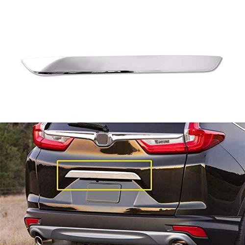 LSYBB 1Pcs Chrome Posteriore Portellone Bazel Coperchio Disposizione della Copertura della Honda CRV 2017-2018 Accessori Esterni Parts