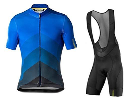 GONGMICF Maillot Ciclismo Corto De Verano para Hombre,Ropa Ciclismo,Absorbe El Sudor Maillot...