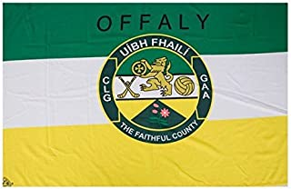 OFFICIAL IRELAND GAA crest COUNTY FLAG OFFALY 152cm x91cm very limited stock