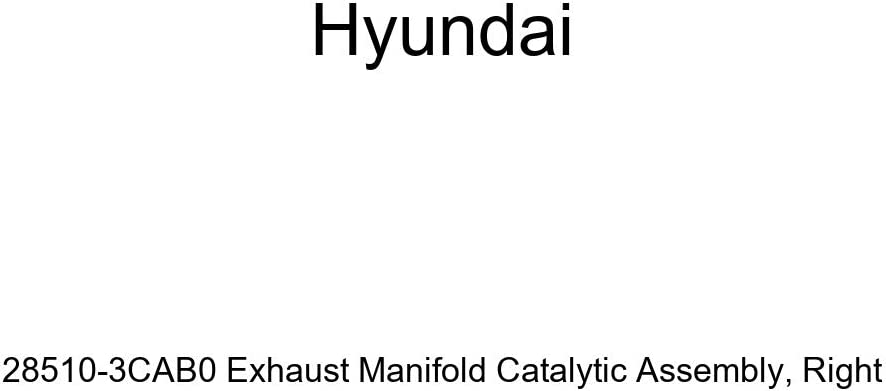 Credence Genuine Hyundai 28510-3CAB0 Exhaust Same day shipping Catalytic Manifold Assembly