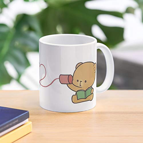 Milk And Mocha. Teddy bear day. 11 Oz Premium Quality printed Coffee Mug, Comfortable To Hold, Unique Gifting ideas for Friend/coworker/loved ones