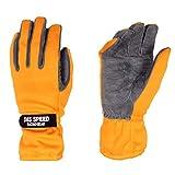 DES SPEED DES-617 ミッドタイプレーシンググローブ オレンジ L 四輪用 外縫い DES617OR-L