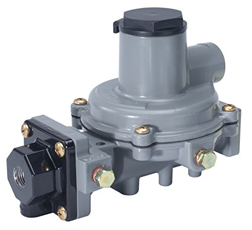 Emerson-Fisher LP-Gas Equipment R232A-BBF Compact Integral 2-Stage Regulator, 1/4' x 1/2' NPT, 10.2'-13' W.C. Spring