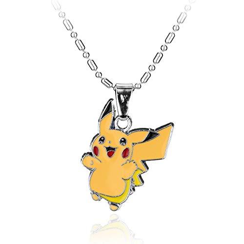 WYFLL Anime Accessories Collier Pokémon personnalisé Bijoux Accessoires tendance