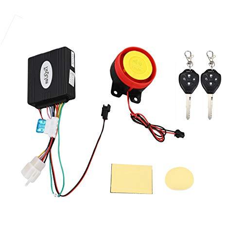 LilyJudy Sistema de alarma antirrobo para motocicleta con mando a distancia