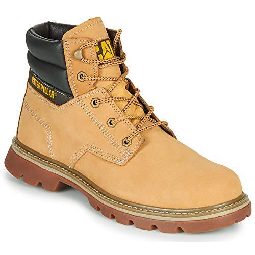 Caterpillar Quadrate Ankle Boots/Boots Men Beige - 11.5 - Mid Boots Shoes