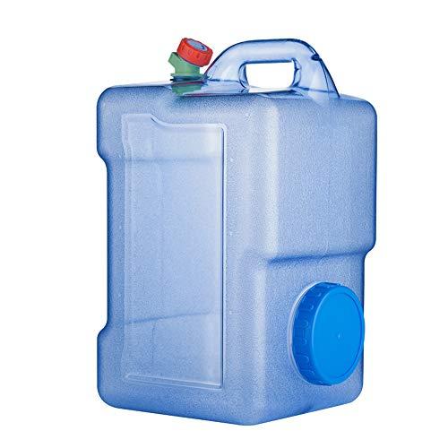 outdoor product Kampierender Quadratischer Plastikwasserbehälter 25L Im Freien,Tragbarer Reiseauto-Wasserspeichereimer Notwasserspeicher Mit Wasserhahn ,Trinkwasserspeichereimer