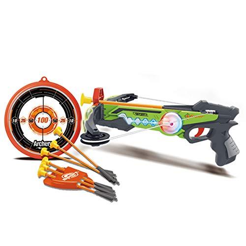 Yayun Pfeil und Bogen Set für Kinder Kinder Sport Schießen Bogenschießen Spielzeug mit Soft Sucker, Pfeil und Zielset, Bogenschießset für Jungen und Mädchen