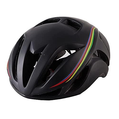 Peakfeng Casco de Bicicleta, Casco de Bicicleta de montaña aerodinámica Triatlón Ultra Luz Montaña Bicicleta Casco Casco Racing Safety Sombrero