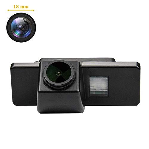 HD Caméra de Recul Voiture en Couleur Kit Caméra vue arrière de voiture Imperméable IP68 Vision Nocturne pour Qashqai X-Trail Geniss J10 C4 C5 C-Triomphe 308/407/408/301/308SW/308CC/3008 Dualis