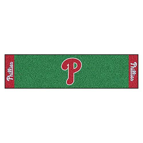 FANMATS MLB Philadelphia Phillies Nylon Face Putting Green Mat