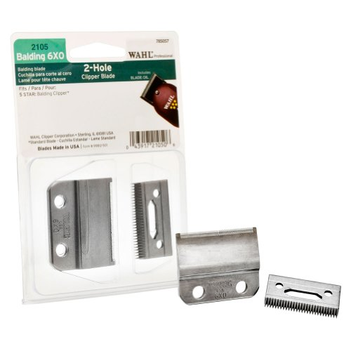 WAHL Replacement Professional 5-Star Balding 6X0 Clipper Blade Screws Oil Kit