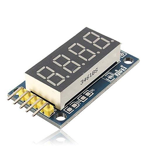 RLJJCS1163 2 stücke 4 Bits Digital Tube LED-Anzeigemodulette mit Uhr for Arduino - Produkte, die mit verschriebenen Arduino-Boards Arbeiten