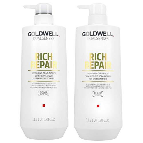 Dualsenses - Rich Repair de Goldwell Restoring Duo Paquete 1000 ml