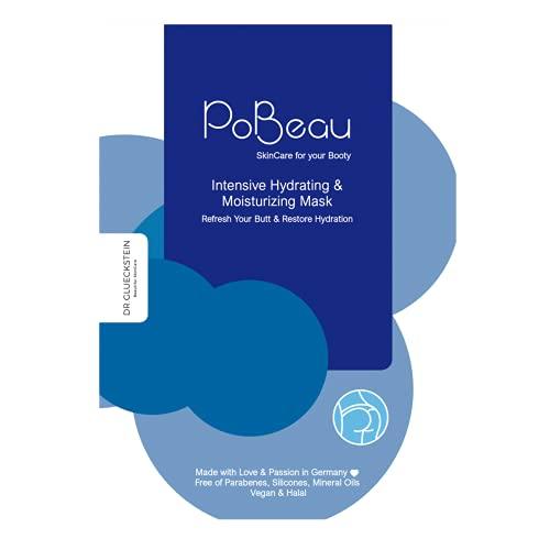 PoBeau® Anti-Aging Hydrogel Po-Maske gegen Rötungen - Dringt tiefenwirksam in die Haut ein und spendet nachhaltig Feuchtigkeit - Mit extra Inulin für eine starke Barrierefunktion der Haut