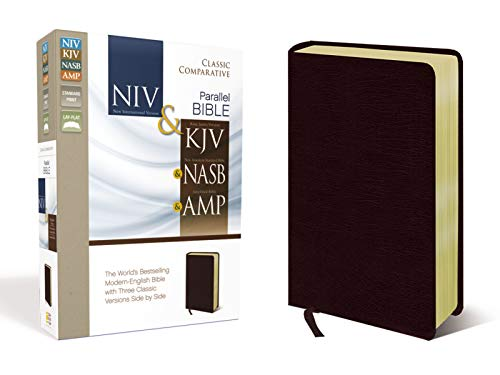 Compare Textbook Prices for NIV, KJV, NASB, Amplified, Classic Comparative Parallel Bible, Bonded Leather, Burgundy: NIV and   KJV and   NASB and   Amplified Lea Edition ISBN 0025986436773 by Zondervan