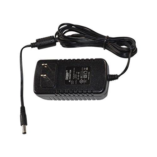 HQRP AC Adapter/Power Supply for Yamaha DGX-500 / DGX500 / DGX-505 / DGX505 Keyboards Replacement Plus HQRP Euro Plug Adapter