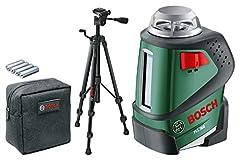 Bosch Laser de ligne PLL 360 Set avec trépied (plage de travail: 20 m, précision: ± 0,4 mm/m, en poche de protection)