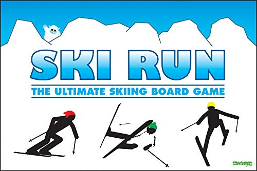 SKI RUN - The Ultimate Skiing Family Board Game by Wild Card Games by Wildcard Games
