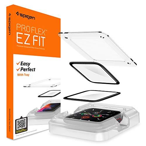 Spigen Proflex EZ Fit Protector Pantalla para Apple Watch Series 6 40mm y Apple Watch SE 40mm - 2 Unidades