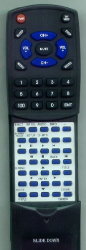 Replacement Remote Control for Emerson LD195EMX, NF607UD