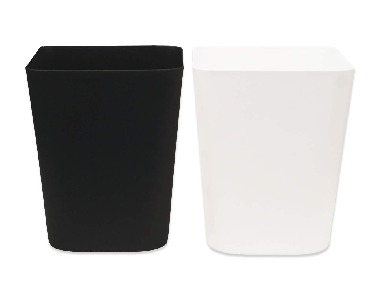 Gereen 1.6 Manufacturer direct delivery Gallon Wastebasket safety 2 Pack Bin Garbage Trash Small Can