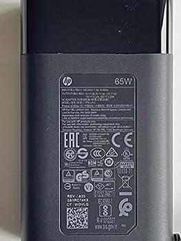 Replacement HP 65W USB Type-C AC Adapter for HP EliteBook x360 1030 G3 Series HP EliteBook Folio 1040 G4 Series L04540-001 L04650-850 PA-1650-38HT TPN-LA12.