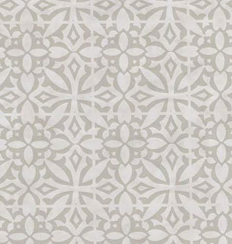 Klebefolie - Möbelfolie Noa Ornamente beige Dekorfolie 45 cm x 200 cm Selbstklebefolie