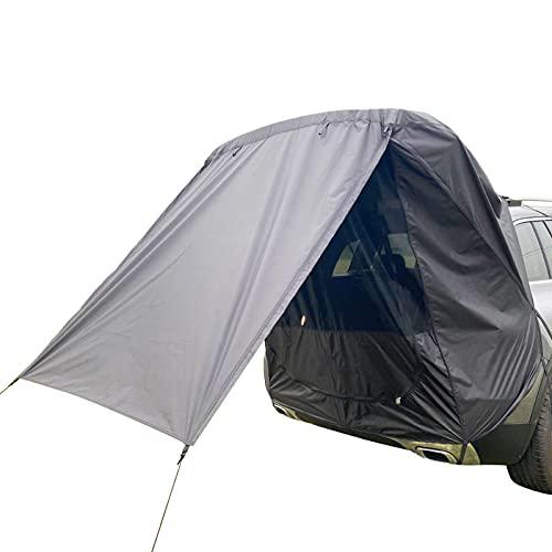 ruixin Heckklappe Schatten Markise Zelt für Auto Sonnenschirm Regendicht Zelt für Selbst-Fahren Tragbare Tour Grill Camping Auto Hinten Erweiterung Zelt Geeignet für Kleine Und Mittlere