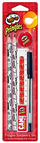Helix Oxford Schreib-Set Set 6-tlg. - 2x Bleistift/Lineal/Anspitzer/Radierer/Kugelschreiber, 899812