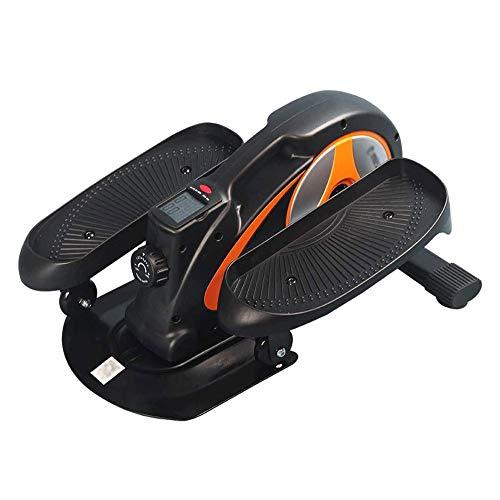 UIZSDIUZ Mini Bike - Home Trainer, Paso a Paso, elíptico Bicicletas, Máquinas de Ejercicios, Traingin Ordenador, Dispaly Digital, Resistencia Variable, Ahorro de Espacio