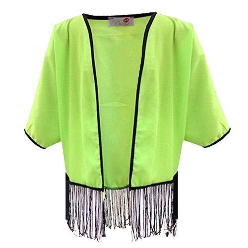 a2z4kids A2Z 4 Kids® kinderen meisjes kimono gebreide jas stijlvol modieus mode top leeftijd 7 8 9 10 11 12 13 jaar