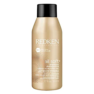 Redken All Soft Shampoo   for Dry/Brittle Hair   Provides Intense Softness and Shine   with Argan Oil