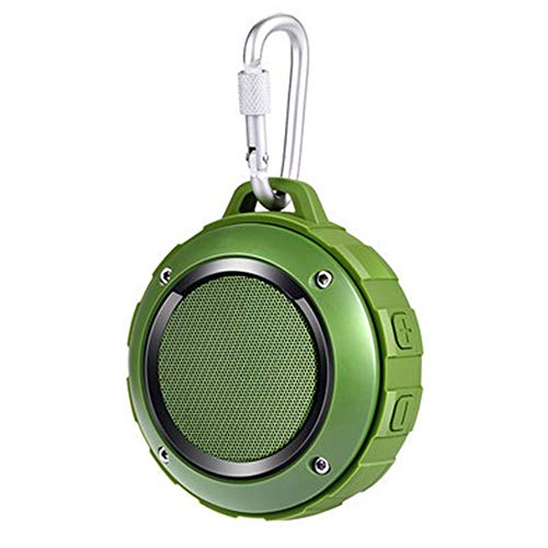 XIAOFLYI Bluetooth luidspreker waterdicht mini super draagbare draadloze luidspreker ondersteuning tf kaart spelen voor outdoor reizen met haak