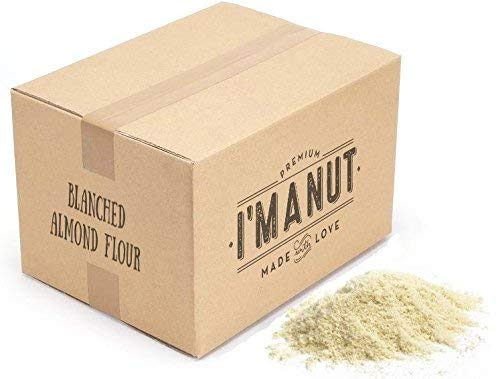 Blanched Almond Flour 25 lbs Great for Paleo and Keto Diet, Grain and Gluten Free, Certified Kosher I'm A Nut