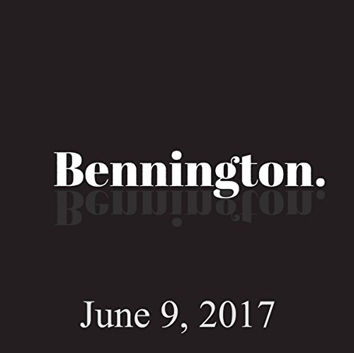 Bennington, Talib Babb, June 9, 2017 audiobook cover art