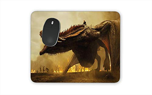 Game of Thrones GOT Themed New Mouse Pads Mousepads Jon Snow Dragons Arya Sansa Tyrion