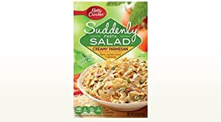 Betty Crocker, Suddenly Salad, Pasta Creamy Parmesan, 6.2oz Box (Pack of 4)