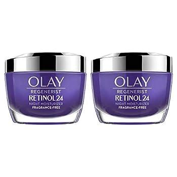 Olay Olay Regenerist Retinol 24 Night Creamcount 2 X 1.7 Ounce   Net Wt 3.4 Ounce  ,