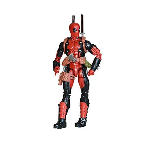 YALIXING Deadpool Figura Marvel Avengers 3 muñecas periféricas Juguetes cómicos articulados Figura...