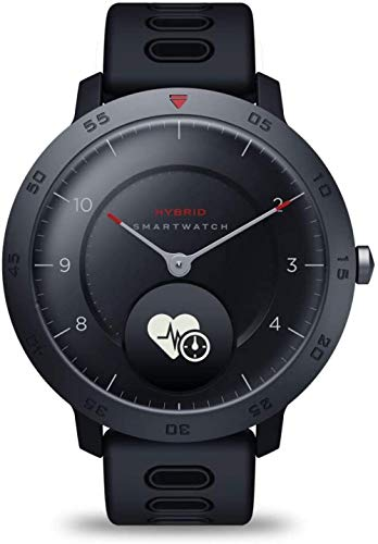 reloj inteligente reloj mecánico largo espera impermeable notificaciones Smartphone azul-negro