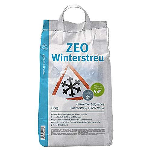 Zeolith Winterstreu Streusalz Granulat Streu Umweltschonend