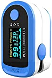 Areo Finger Tip Pulse Oximeter with LED Display Blue