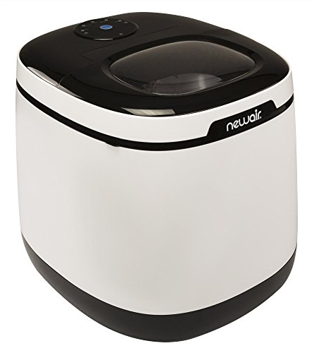 NewAir Portable Ice Maker 50 lb. Daily, Countertop Modern Design, Bullet Shaped...